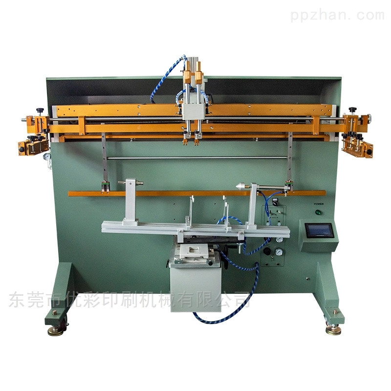 绍兴市垃圾桶丝印机厂家塑料桶丝网印刷机