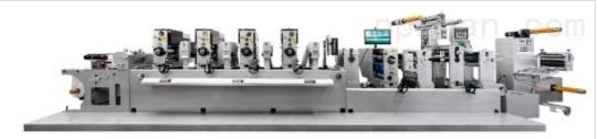奈本FH300高速间歇标签凸版印刷机