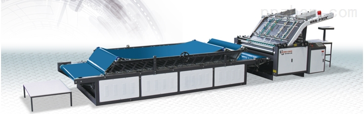 HRB-1300H/1600H半自动低台裱纸机