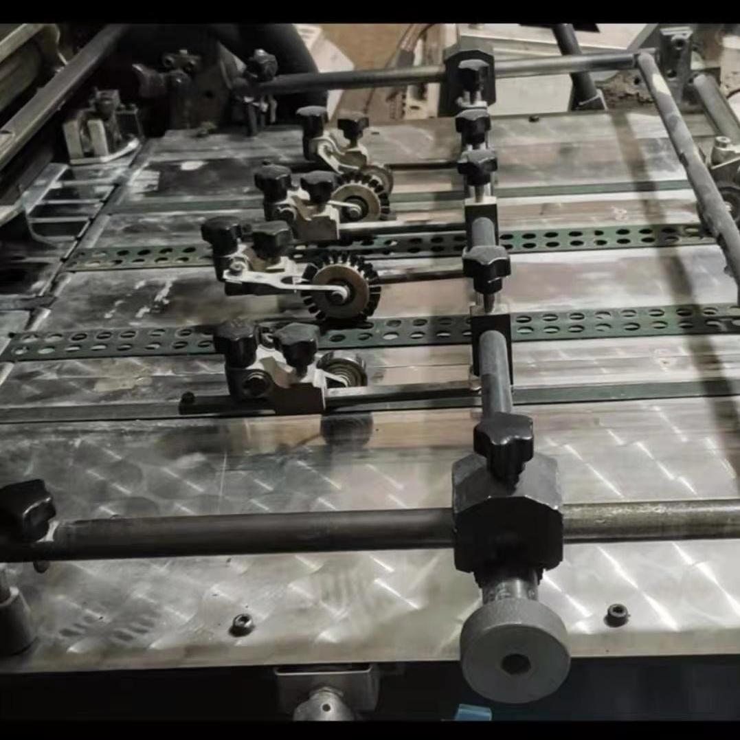 出售冠华564四开四色薄版印刷机