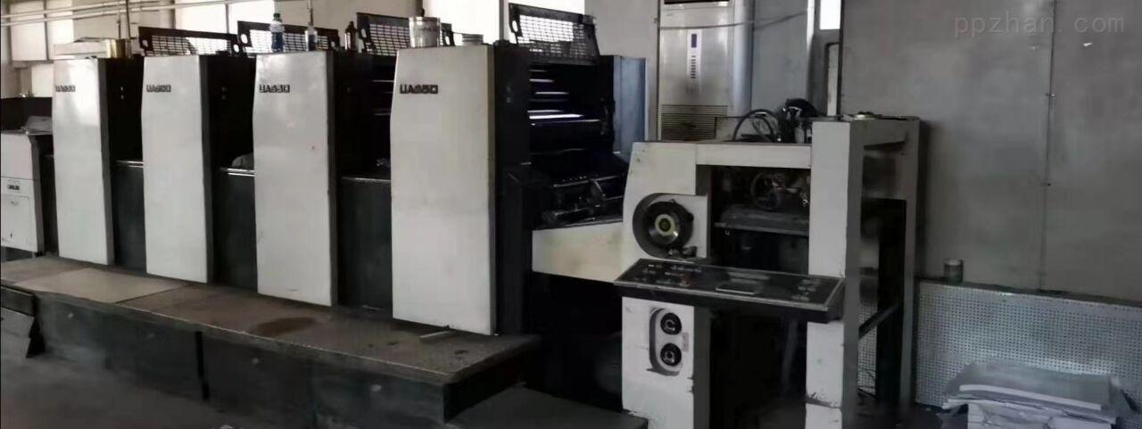 出售二手光华650四色印刷机