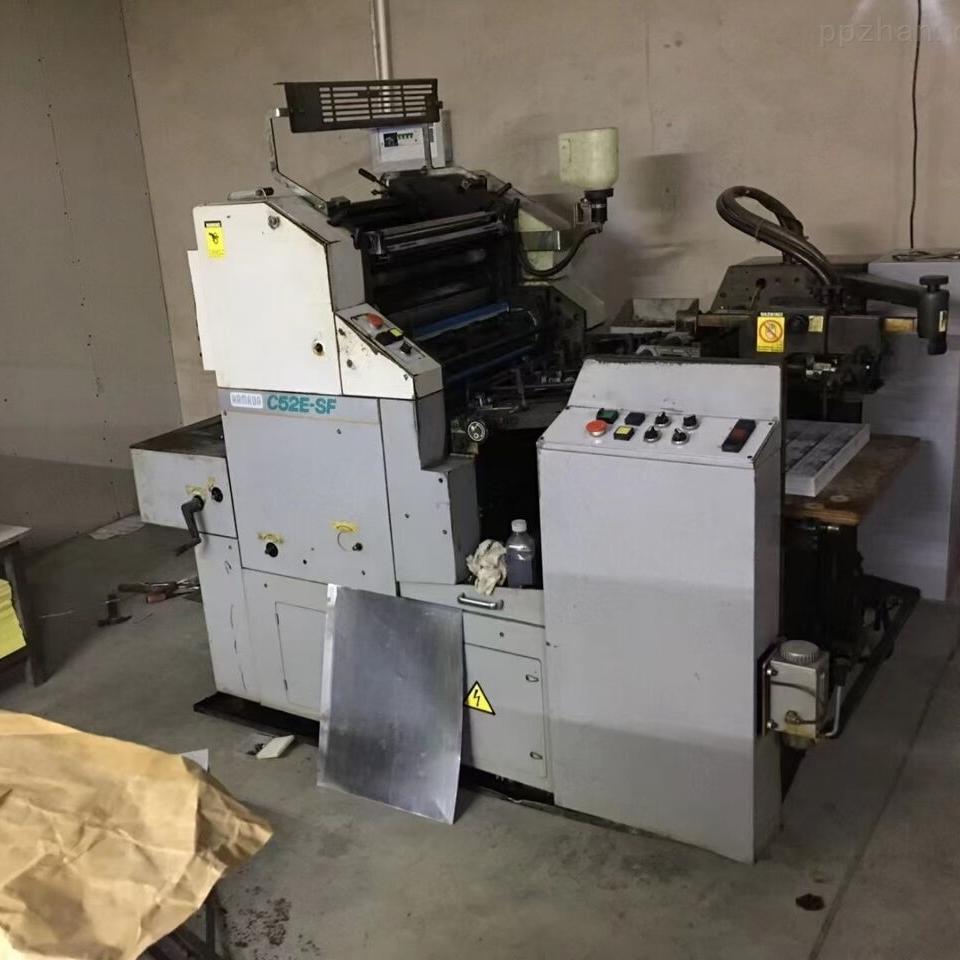 出售日本滨田52单色印刷机