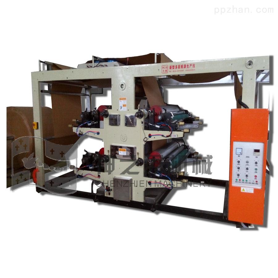 四色卷筒纸柔版印刷机