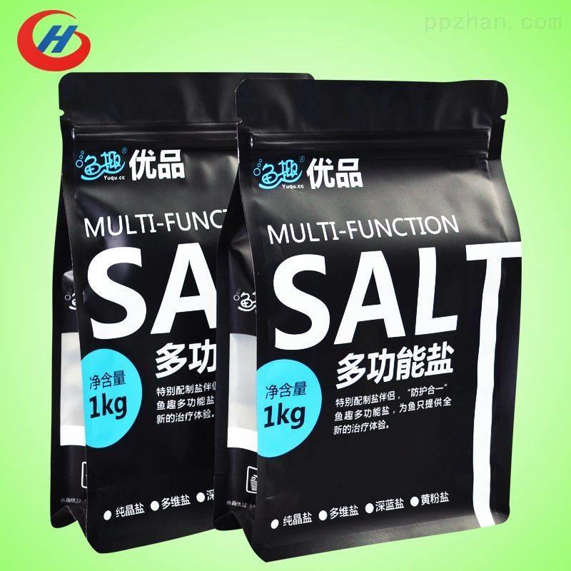 广东厂家定制八边封自封自立食品包装袋调味品食品包装袋哑光塑料复合食品包装袋