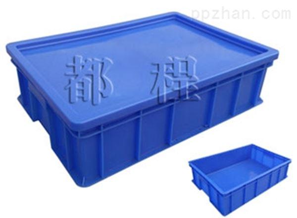 X221塑料周转箱(箱盖可选)