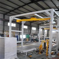 厂家摇臂式缠绕包装生产线悬臂式在线缠绕机