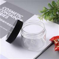 供应150mlpet塑料广口罐子 小物品收纳塑料罐 食品包装密封罐子